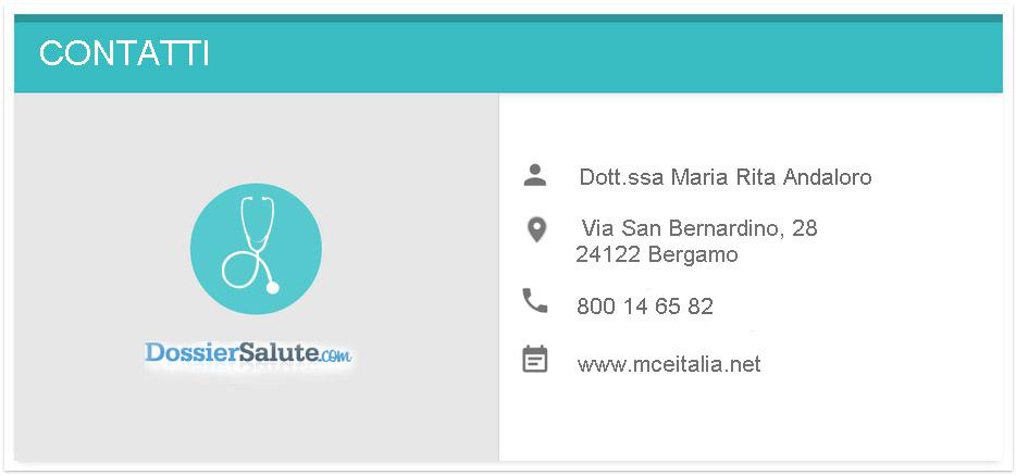 Contatti Dott.ssa Andaloro