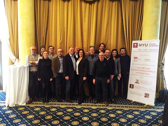 Foto Gruppo NYU Lugano 6 febbraio 2016