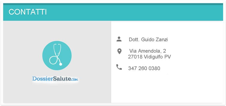 Contatti Dott. Zanzi