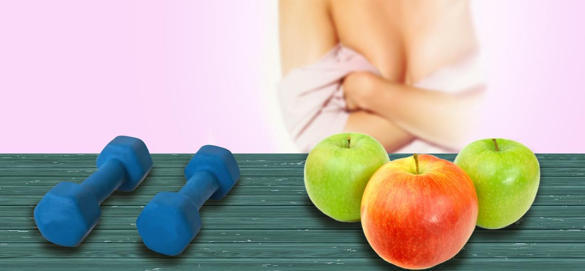 Prevenire il tumore al seno con una vita sana