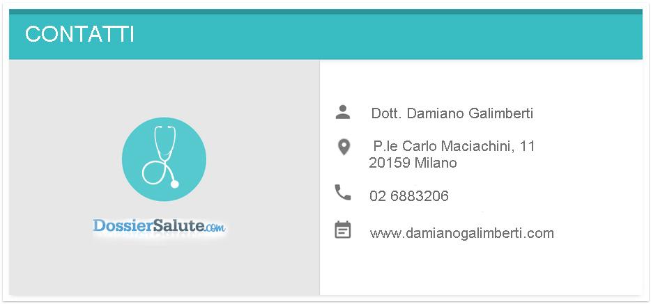 Contatti Dott. Galimberti