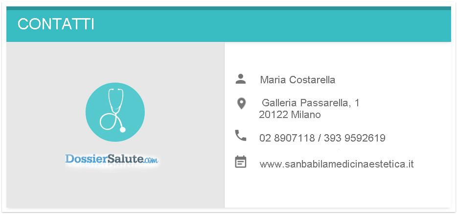 Contatti Dott.ssa Cosatrella