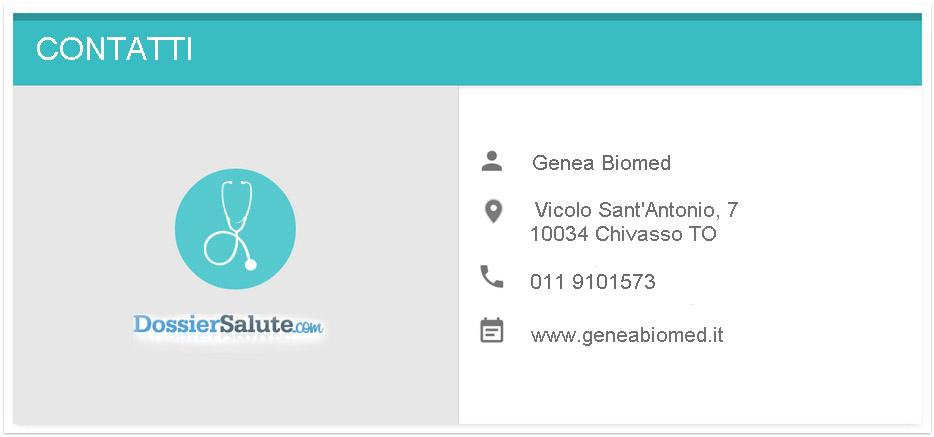 Contatti Genea Biomed