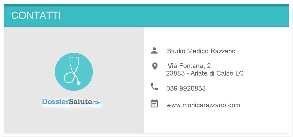 Contatti Studio Medico Razzano