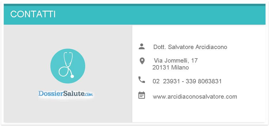 Contatti Dott. Arcidiacono