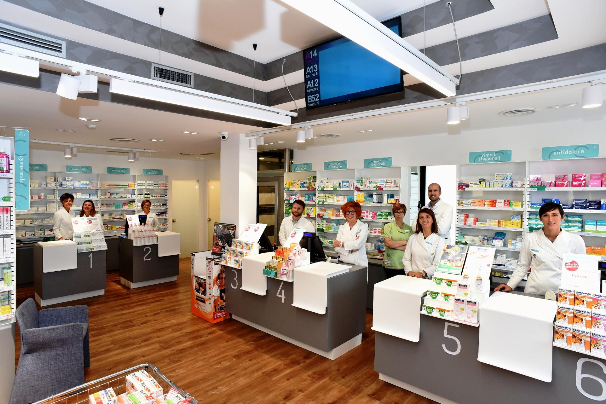 Farmacia san lorenzo for Piani cabina personalizzati