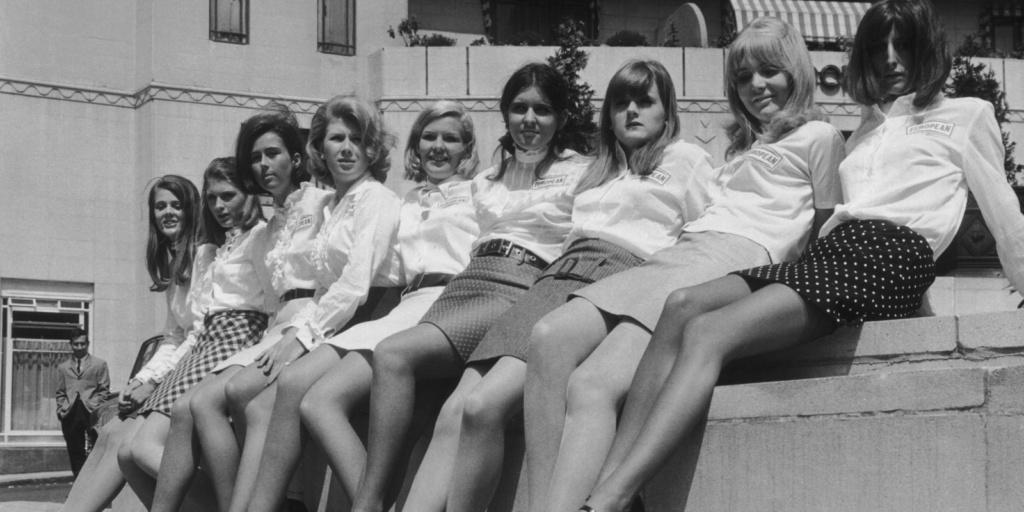 Anni '60: minigonna e hot pants