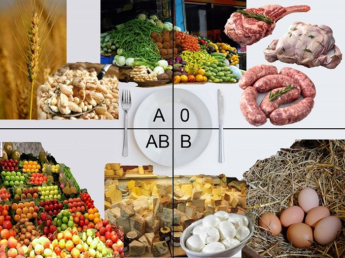 Dieta del gruppo sanguigno: mangia ciò che sei