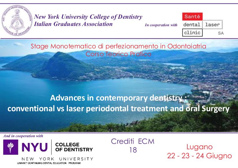 Stage Monotematico di perfezionamento di Odontoiatria Corso Teorico Pratico