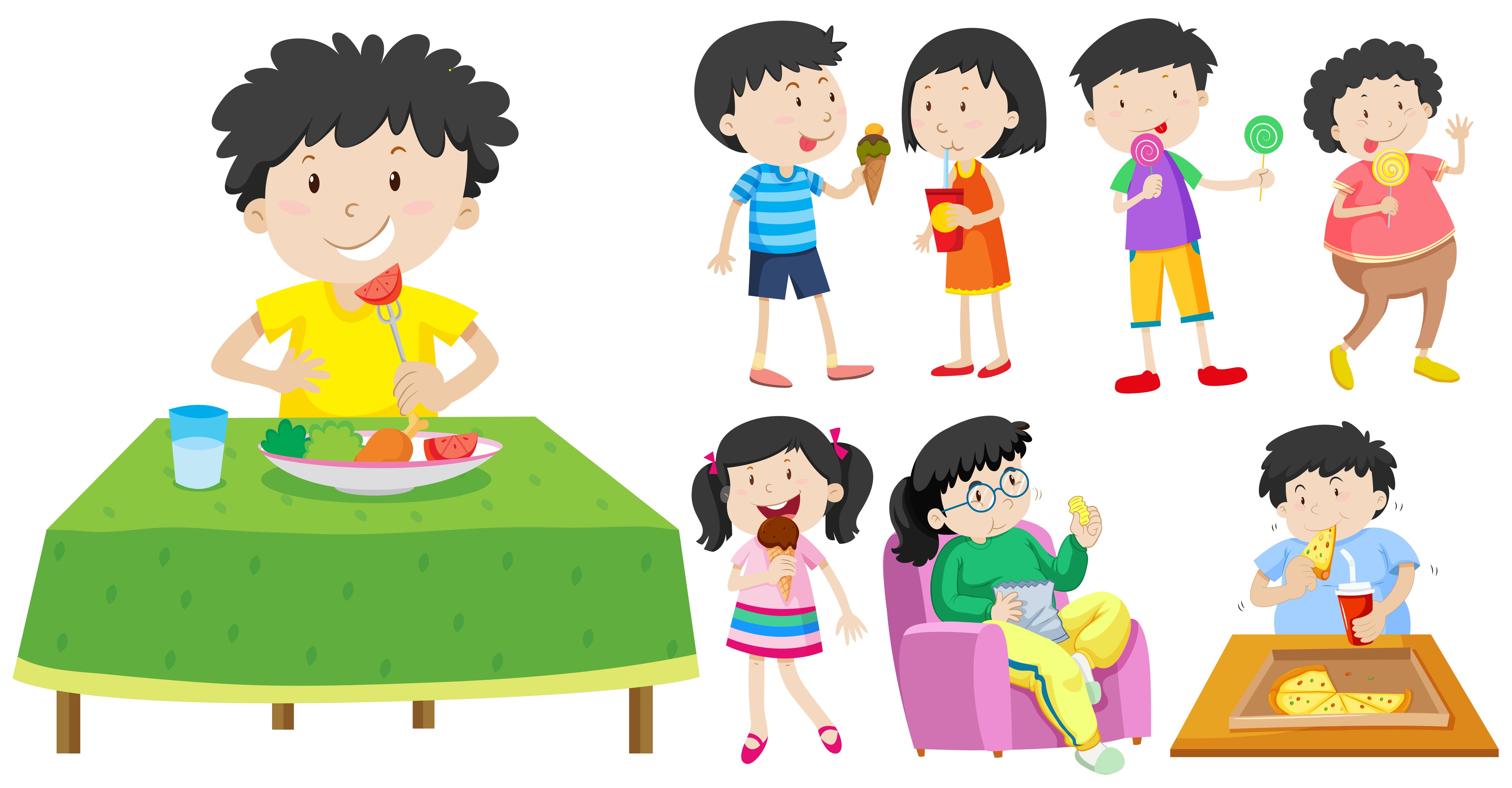 Alimentazione nei bambini: mangiare adeguatamente per crescere bene