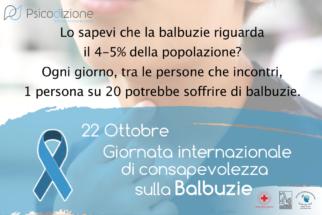 22 Ottobre - Giornata Internazionale di Consapevolezza sulla Balbuzie