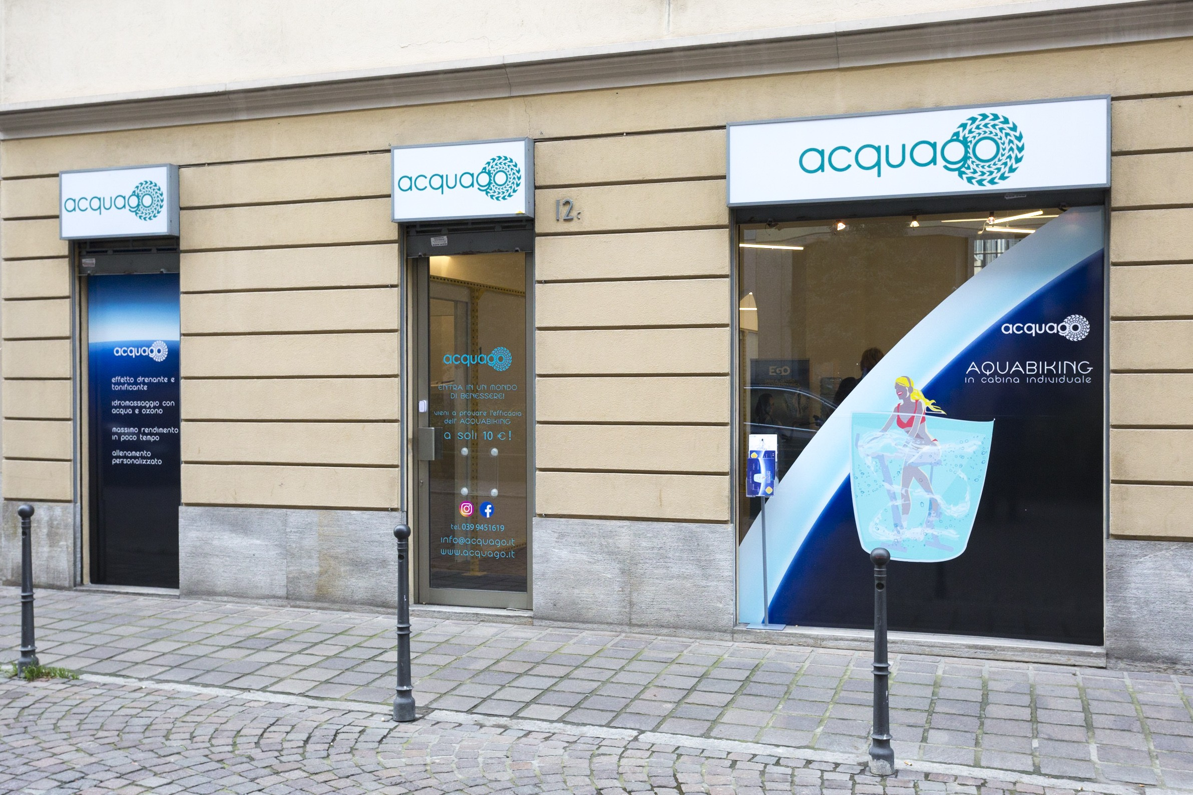 Mantenersi in forma con l'acquabike innovativo Acquago