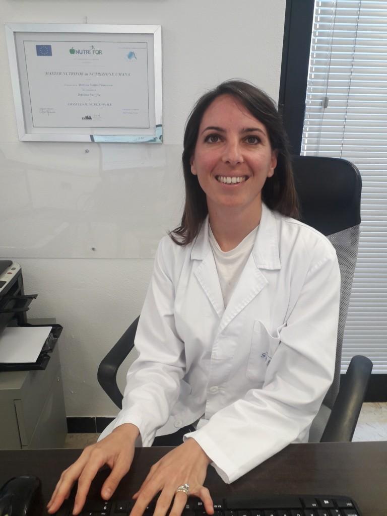 Dott.ssa Francesca M Sottini biologo nutrizionista a Novara