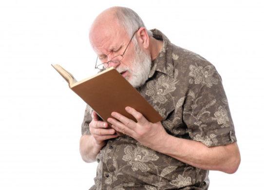 Presbiopia difetto visivo dell'invecchiamento