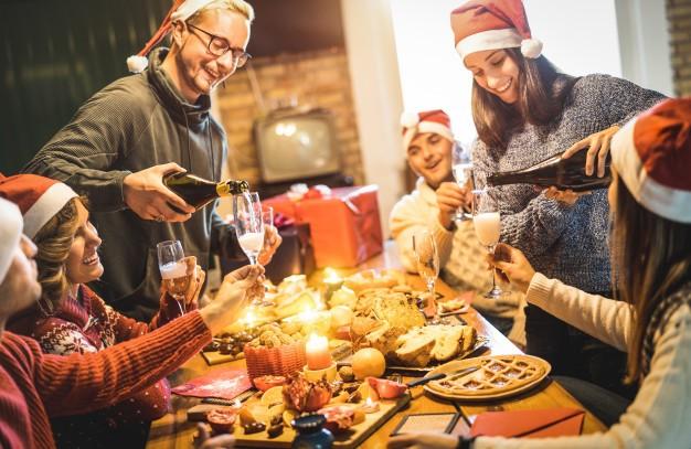 Sopravvivere al pranzo di Natale con semplici regole
