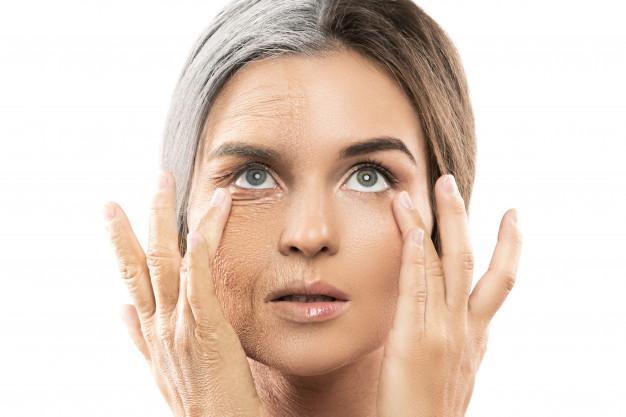 Invecchiamento della pelle e scompenso ormonale