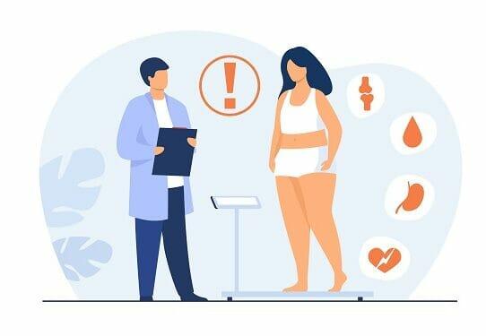 obesità sovrappeso covid